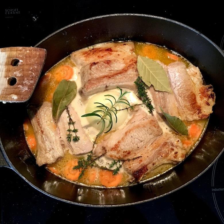 Ma cuisine sans lactose la blanquette de veau aunomi - Cuisine blanquette de veau ...