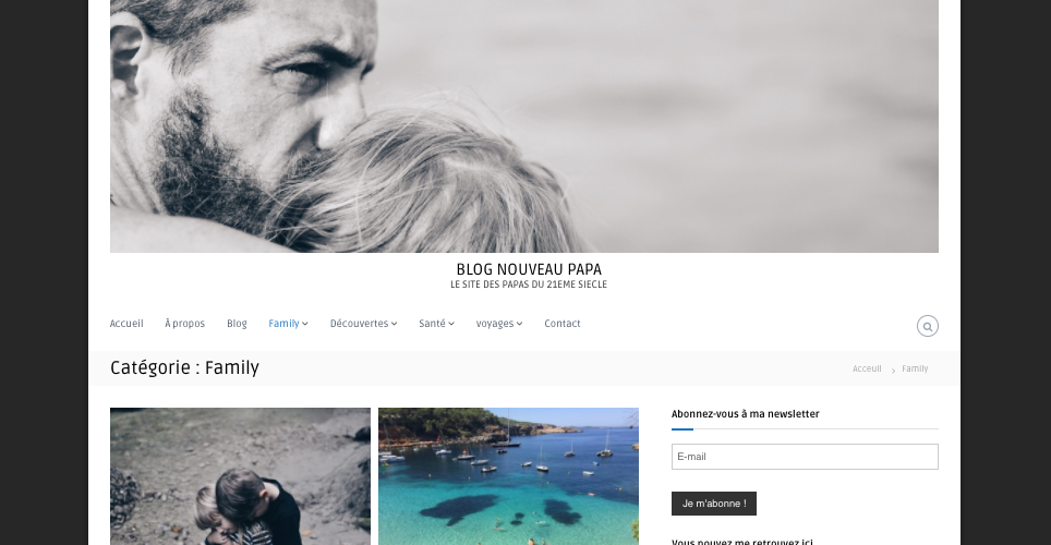 Sélection de blogs papa