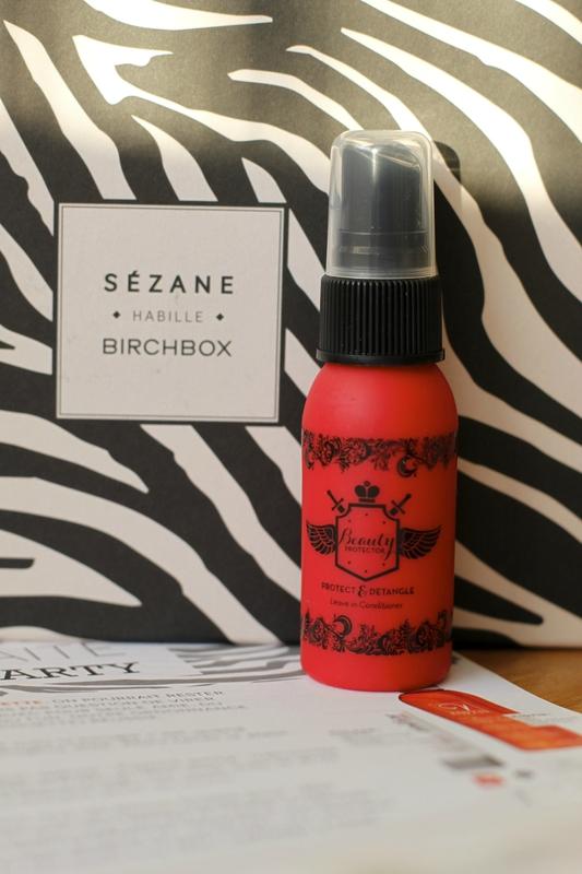box beauté Birchbox en partenariat avec Sézane novembre 2013 ©aunomi