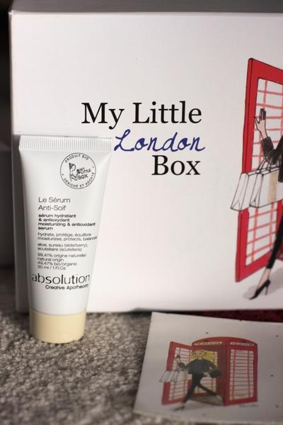 Contenu My Little London Box mars 2014 ©aunomi