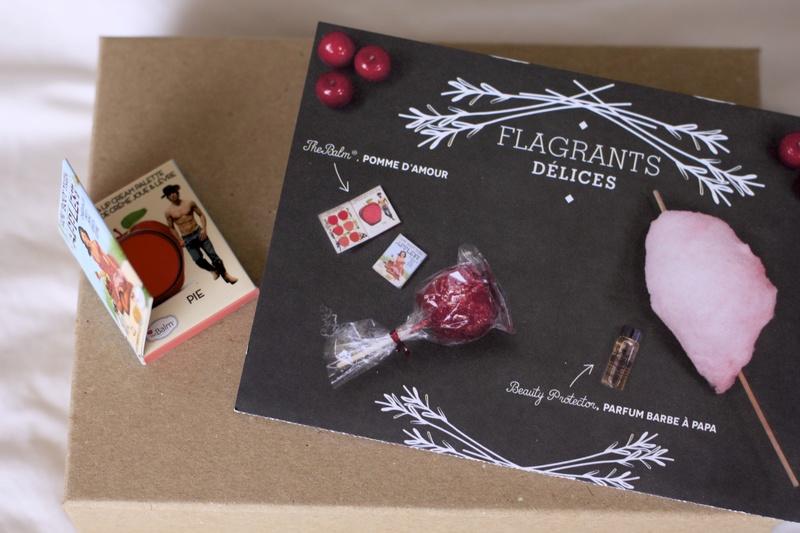Box beauté Flagrants Délices BIRCHBOX avril 2014 ©aunomi
