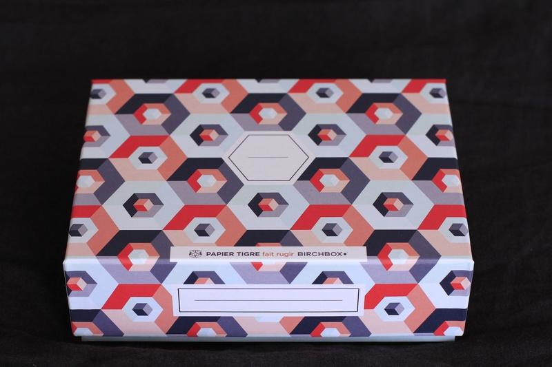 Box beauté Birchbox x Papier Tigre mai 2014 ©aunomi
