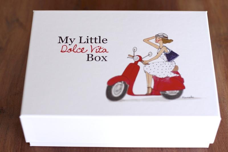 Contenu de My Little Dolce Vita Box ©aunomi