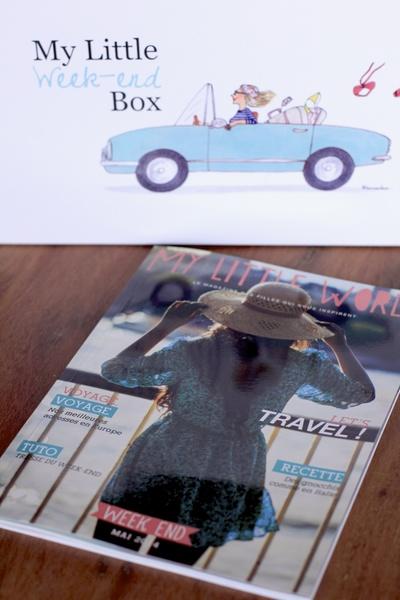 Contenu My Little Week End Box ©aunomi