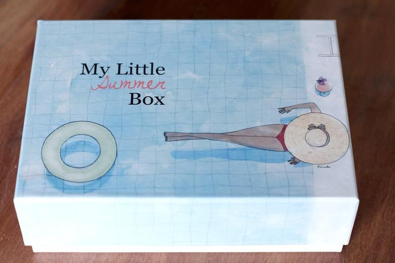 Contenu My Little Summer Box juillet 2014 ©aunomi