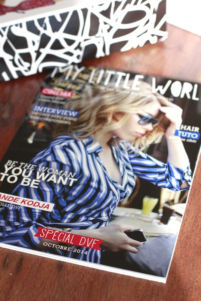 Contenu My Little Box x Diane Von Furstenberg octobre 2014 ©aunomi