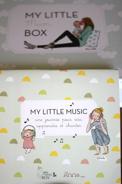Contenu My Little Mum Box ©aunomi