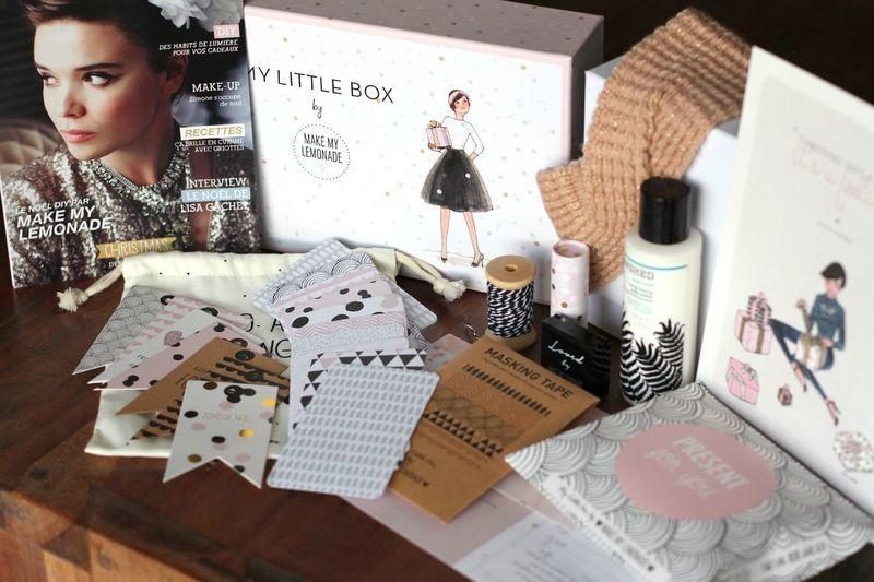 Contenu My Little Box by Make my Lemonade décembre 2014 ©aunomi