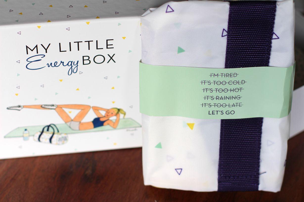 Contenu My Little Energy Box janvier 2015 ©aunomi