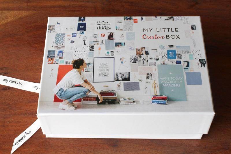 Contenu My Little Creative Box Pinterest octobre 2015