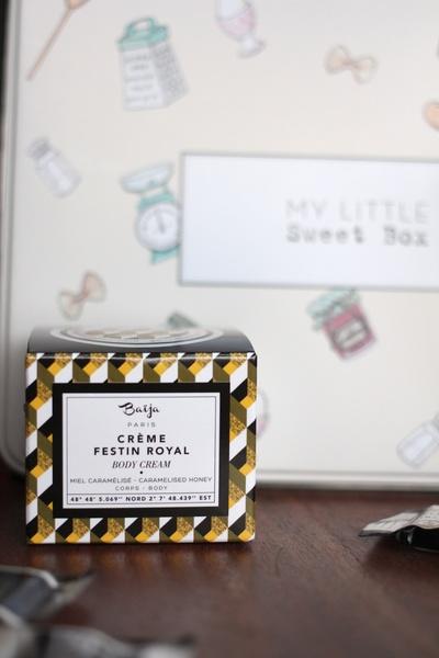 Contenu My little sweet box novembre 2015