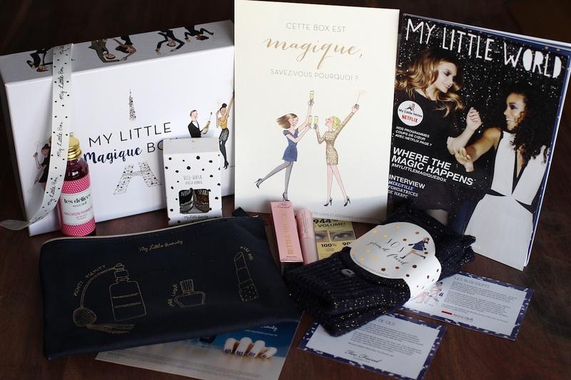 Contenu My Little Magique Box décembre 2015
