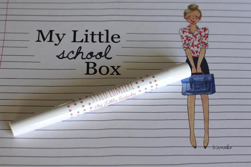 Contenu My Little School Box septembre 2014 ©aunomi