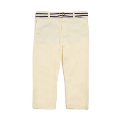 Pantalon jaune pâle Justin Natalys