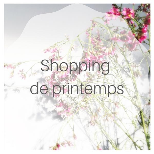 Sélection shopping déco et mode pour le printemps