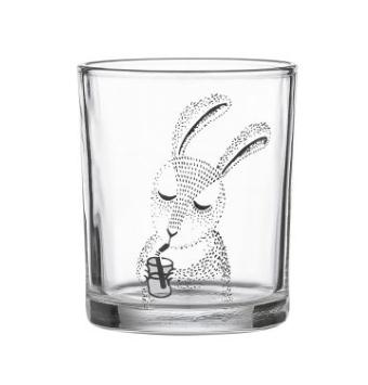 Vaisselle enfant verre lapin Bloomingville