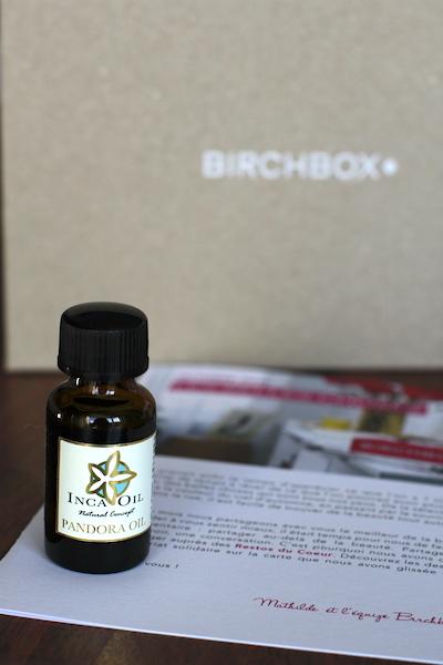 Box Beauté Birchbox octobre 2014 ©aunomi