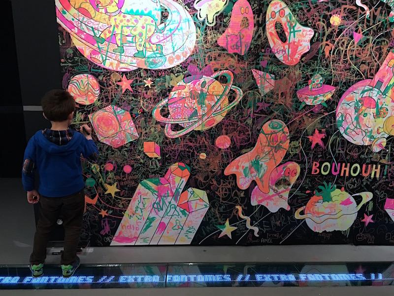 Expo pour enfants Extra Fantômes à la Gaité Lyrique ©aunomi
