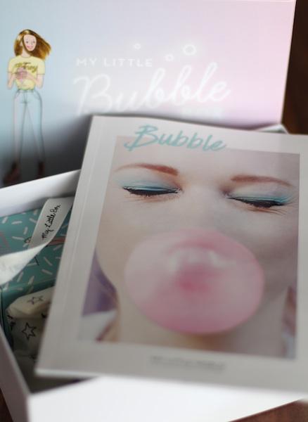 Contenu de My Little Bubble box mars 2016 ©aunomi