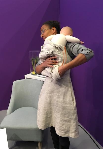 Foire de Paris - Robe maternité Tois plumes - ©aunomi