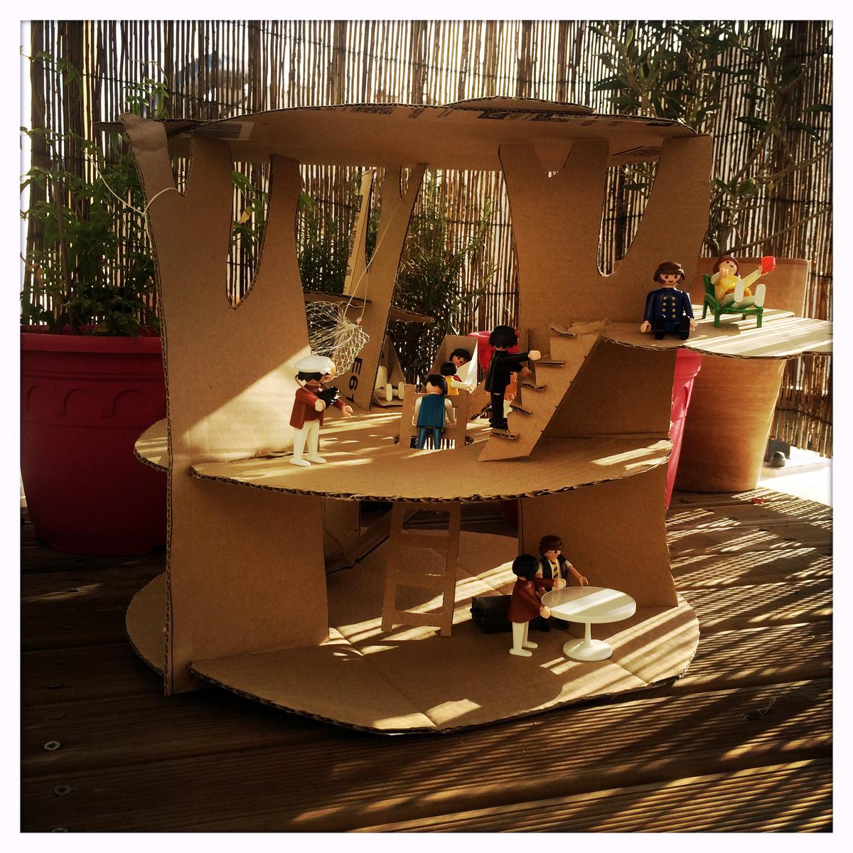 Cabane En Carton Diy occuper vos enfants avec un simple carton - * aunomi *